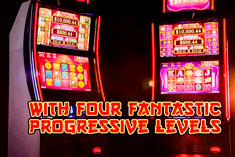 5 TREASURES™ is slot machine content with beautiful Asian imagery, four-levels of progressive jackpots and a generous Free Games Bonus that keeps players coming back for more.