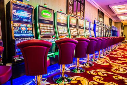Premium Italian seats Aspen for casino tables & slot machines