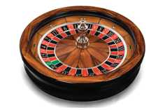 Connoisseur roulette wheel, excellent quality & security for casino gaming tables