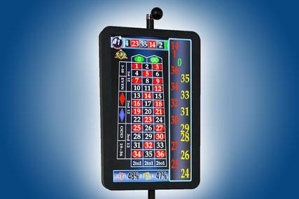 Дисплей, электронное табло для американской рулетки