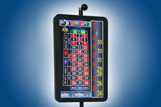 ДИСПЛЕЙ служит отличным дополнением к любому рулеточному столу и позволяет быстро и точно выводить на экран результат и статистику игры в поразительно четком высоком разрешении.
