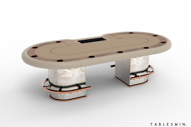 Poker-room table from Gambler collection