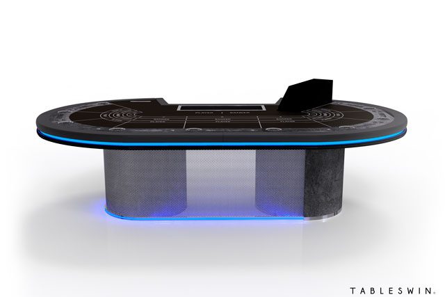 GRUNGE | Casino table for baccarat