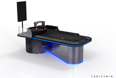 GRUNGE | Casino gaming table for american roulette
