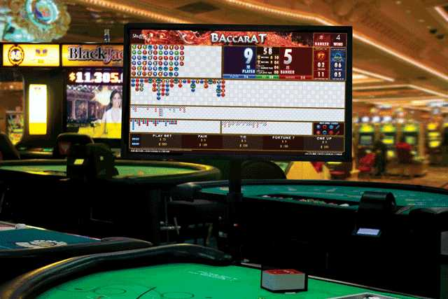 Display results, scores and trends for Baccarat.