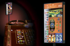 Add slot reels and high payouts to american roulette tables