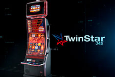 TwinStar™ J43 | Top performing slot cabinet from Scientific Games