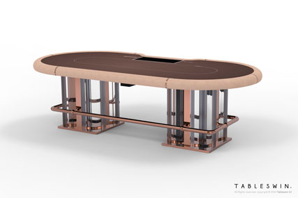 Poker table from VENICE collection offers authentic Italian design and quality of craftmanship.