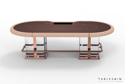 VENICE | Poker gaming table for poker clubs