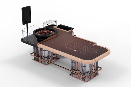 VENICE | Casino gaming table for american roulette
