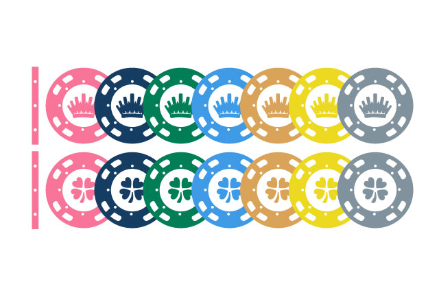 WHEELCKECKS | Colour chips for american roulette